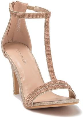 Top Moda Sloan Embellished T-Strap Sandal