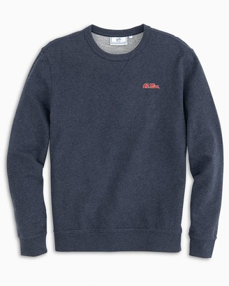 Southern Tide Ole Miss Rebels Upper Deck Pullover Sweater