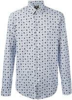 Fendi monster cat print shirt