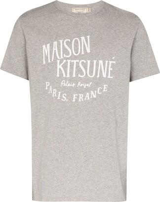 MAISON KITSUNÉ Palais Royal logo-print cotton T-shirt