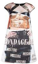 Moschino Women's Multicolor Polyester Tank Top.