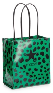 Dani Accessories Green Leopard Logo Lunch Bag, Created for Macy's