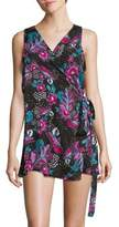 Anne Cole Floral Wrap Cover-Up