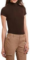 Lauren Ralph Lauren Petite Jersey Short-Sleeve Turtleneck