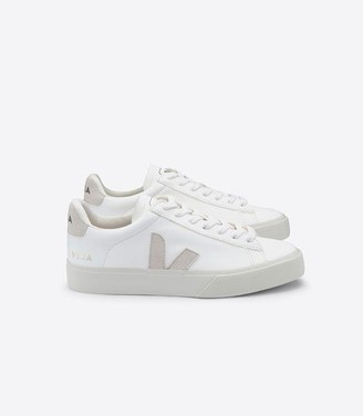 Veja Campo Trainers Shoes White Natural Chromefree Leather - UK10/44