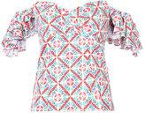 Caroline Constas Louisa top - women - Cotton/Nylon/Spandex/Elastane - XS