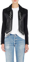 Alexander Wang Women's Embellished Suede & Leather Western Jacket