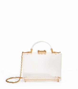 Mark Cross Plexi Grace Box Bag