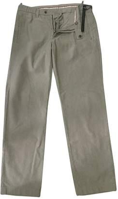 Prada Beige Cotton Jeans