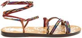 Valentino Santeria Native Couture leather sandals