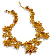 J.Crew Women's Sunshine Crystal Necklace