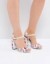 Miss Selfridge Embroidered Heeled Sandal