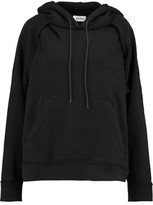DKNY Cotton-Jersey Hooded Sweatshirt
