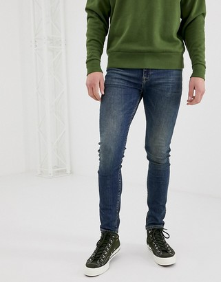 Asos Design DESIGN super skinny jeans in vintage dark wash