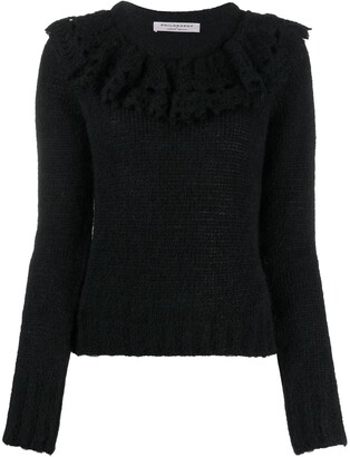 Philosophy di Lorenzo Serafini Ruffled Collar Jumper