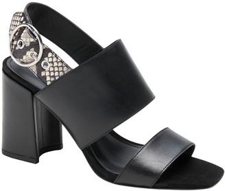 Banana Republic Two-Strap Block-Heel Sandal