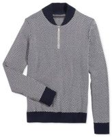 Sean John Men's Herringbone Half-Zip Sweater, Only at Macy's