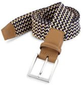 Saks Fifth Avenue COLLECTION Woven Cotton Belt