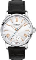Montblanc Men's 4810 42mm Black Alligator Leather Band Steel Case Automatic -Tone Dial Watch 114841