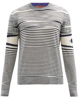 Missoni Space-dyed Wool Sweater - Black Multi