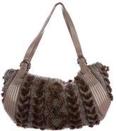 Salvatore Ferragamo Knitted Shoulder Bag