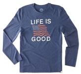 Life is Good Life Is Good? Long Sleeve Cool T-shirt.