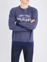 Tommy Hilfiger Logo-print cotton sweatshirt