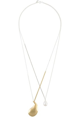 Wouters & Hendrix Pearl Pendant Necklace