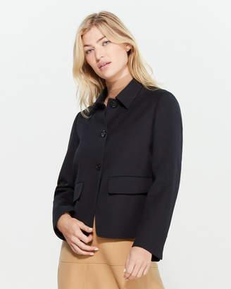 Jil Sander Navy Navy Flap Pocket Wool Jacket
