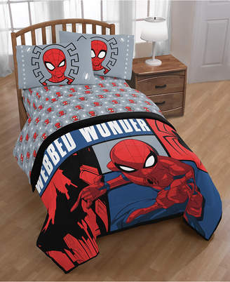 Marvel Spiderman Webbed Wonder 4-Pc. Twin Bed in a Bag Bedding