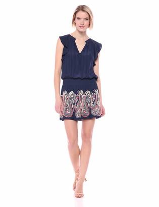 Ramy Brook Women's Roxanne Embroidered Mini Dress