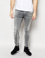 Pepe Jeans Powerflex Nickel Superstretch Skinny Fit Washed Grey
