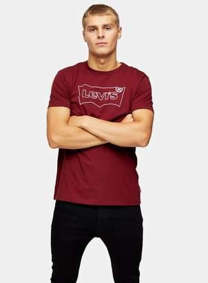 Levi's TopmanTopman Red Batwing Logo T-shirt