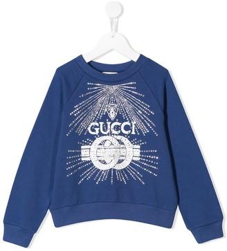 Gucci Kids Logo Sweatshirt