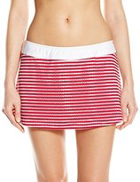 Nautica Women's Windward Eyelet Skirted Bikini Bottom