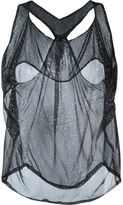Mini Market Minimarket - 'Orbit' tank top - women - Silk - 36
