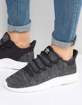 Adidas Originals Tubular Shadow Knit Trainers In Black Bb8826