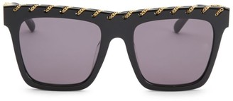 Stella McCartney 54MM Rectangle Sunglasses