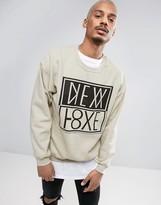 New Love Club New Love Back Print Sweater