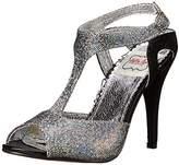 Bettie Page Women's BP416-Lois Dress Sandal,7 M US