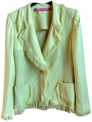 Ungaro Yellow Linen Jackets