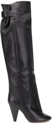 Isabel Marant Lacine knee-high boots