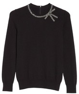 Kate Spade Women's Bow Embellished Sweater