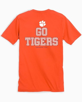 Southern Tide Clemson Chant Short Sleeve T-Shirt