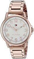 Tommy Hilfiger Women's 1781657 Casey Rose Gold Watch