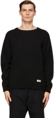 Wacko Maria Black God Bless You Sweater