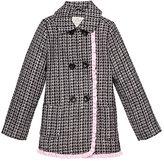 Kate Spade Girls tweed coat