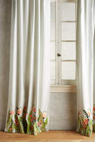 Anthropologie Tulip & Eucalyptus Curtain