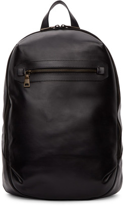Officine Creative Black Mayfair Backpack
