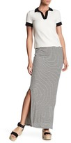 Philosophy Apparel Pull On Stripe Skirt